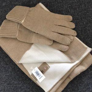 GAP scarf & gloves set